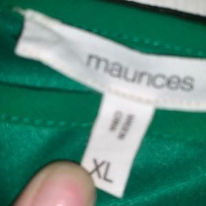 Maurices Dresses - GREEN Maurice's off the shoulder dress!